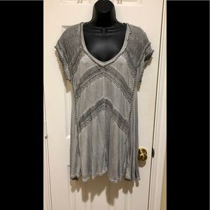 ⭐️NWOT⭐️LOVELY & Very Detailed Knox Rose Tunic